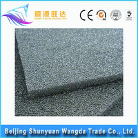 Porous metal foam nickel+fe for automobile exhaust filter