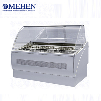 CE Approved commercial low temperature ice cream display freezer with best price