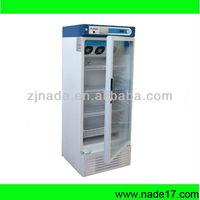 Nade Medical Cryogenic Equipments 4C Medical Blood bank refrigerator XC-240L 240L