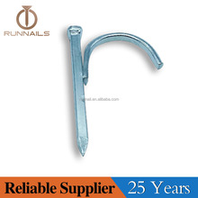 Steel Conduit Hook Nail / Steel Pipe Clip Nails / Steel Nail Strap