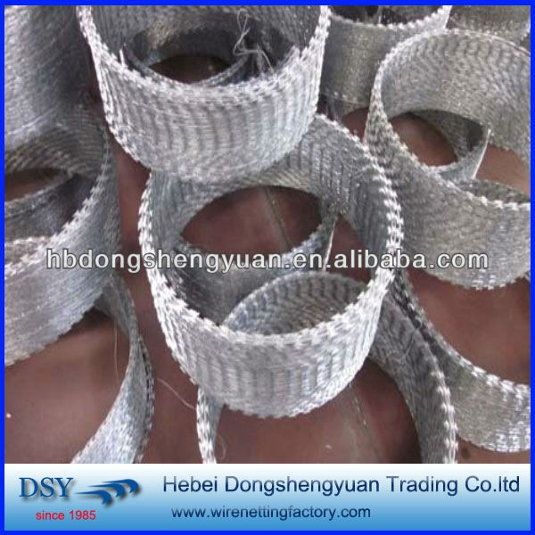 China hot sale BTO-22 razor barbed wire with high quality