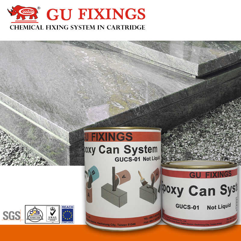 High strong reinforcement and concrete epoxy glue for marble crack repair