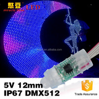 2016 hot project disco decoration 12mm full color led pixel light xxx photos