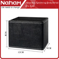 NAHAM personalized promotion square plastic leather pen holder