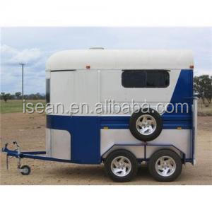 China supplier 2 and 3 horse trailer Austrailer standard