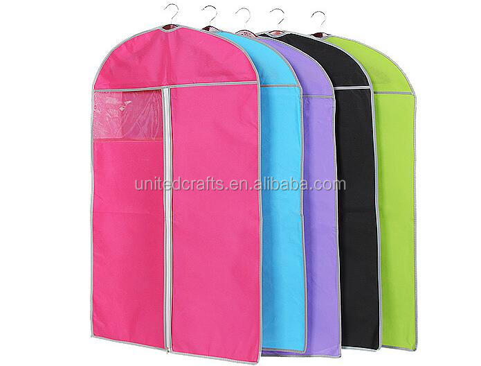 2016 hot new shopping bag non woven garment bags for cloth dust cover