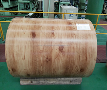 Used for solar panels and cheap prefab homes for sale wood grain ppgi