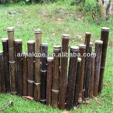 WY-CC 212 wholesale cheap natural garden border bamboo fence manufactures china