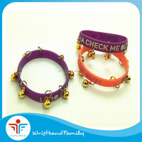 Custom Club Gifts Bell Silicone Bracelet