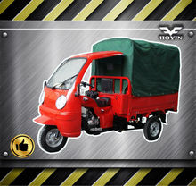 Top-Rated Delivery electric moped china cargo tricycle 200cc on sale