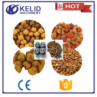 chewing pet food making machine for fish food, dog food, cat food