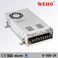 Metal Case 350w industrial power supply ac 220v to dc 24v switching power supply