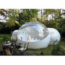 igloo inflatable clear tent, inflatable clear dome tent, outdoor camping inflatable clear air dome tent