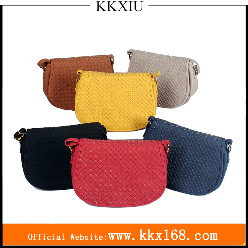 China guangzhou wholesale 2017 images ladies leather party saddle bags for women