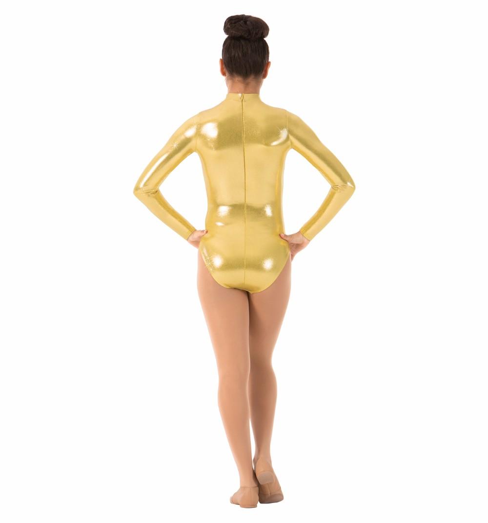 Women\`s Long Sleeve Gymnastics Leotards (3)