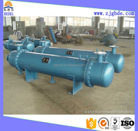competitive price industrial shell and tube heat exchanger with copper fin tubes