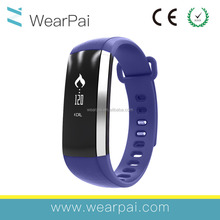 Android step counting smart bracelet wrist strap pedometer 2016 bluetooth bracelet smart watch wristband