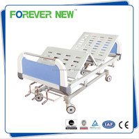 YXZ-C-012 Three Cranks Manual Medical Bed Of Hospital Furniture