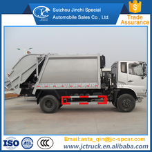 Cheap 10CBM rear loader compactor garbage truck supplier in China