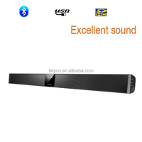 2016 Newest Design Soundbar for TV with Bluetooth FM and SD card and Aux and coaxial