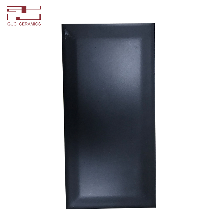 Matt style bevel surface ceramic polished wall tiles factory price