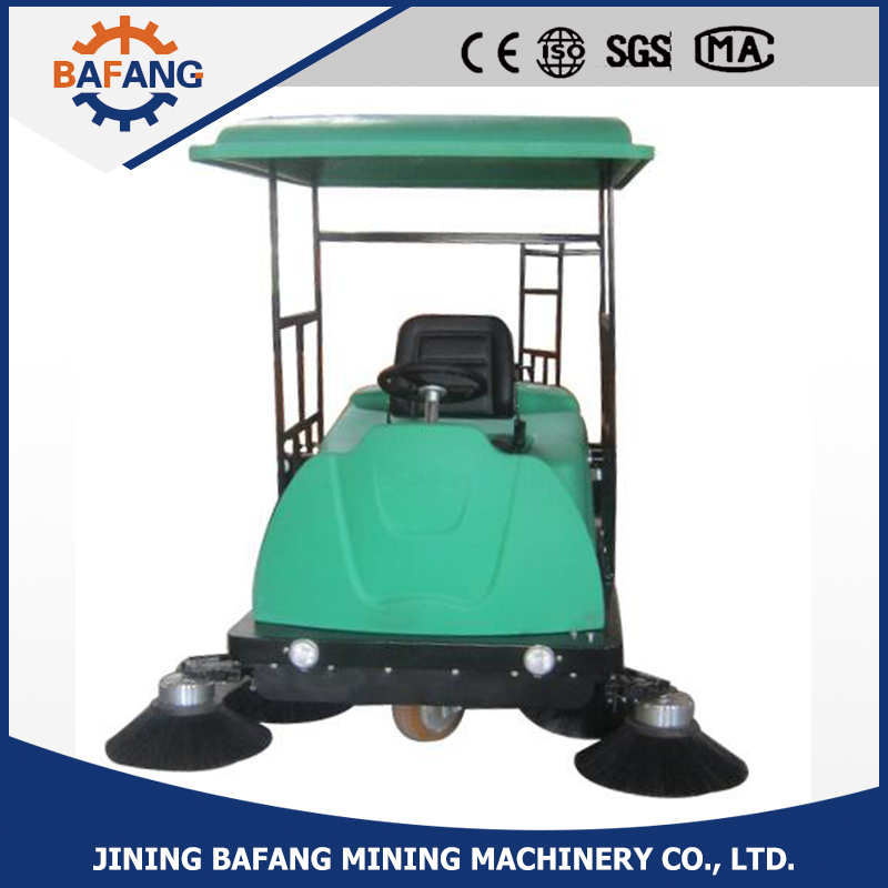 pavement sweeping machine / street driveway sweeper / easy operate sweeps