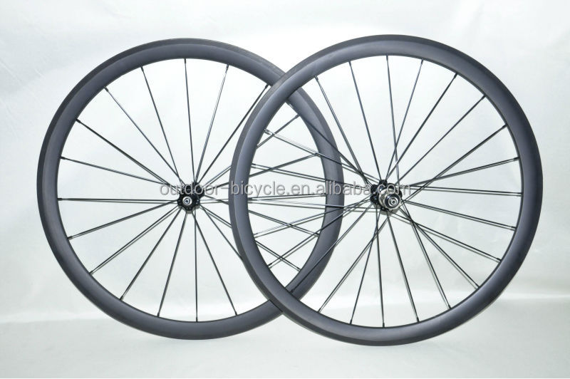 wholesale road racing bike bicycles rims wheelsets 700C tire tyres 38mm clincher made in china carbon fiber spare parts