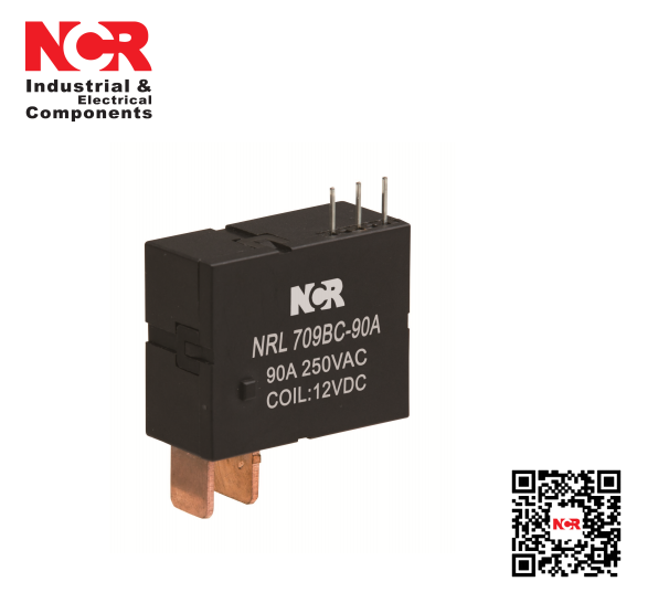 24V 90A switching capability Magnetic Latching Relay(NRL709BC-90A)