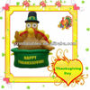 happy thanksgiving inflatable turkey cartoon model