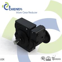 USX 2015 conveyors worm gear speed reducer flange mounted gearmotor for ac motor right angle reduktor