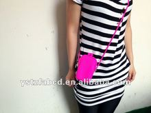 2012 Trendy Ladies' Silicone bags and purses