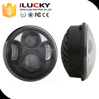 Factories in guangzhou brightness led headlight for motorcycles