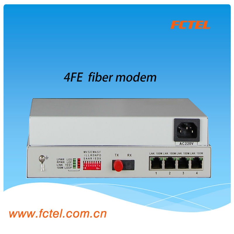 4FE optical fiber modem,optical instrument,onu optical network unit