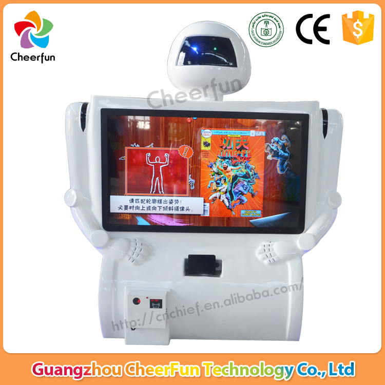 Somatosensory arcade games machine coin operated fighting Kung-fu game machine for game center