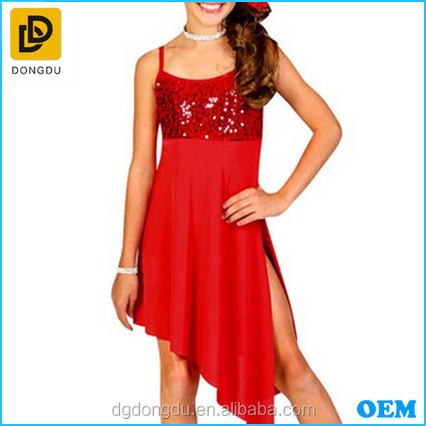 2015 customized Child dance Dress