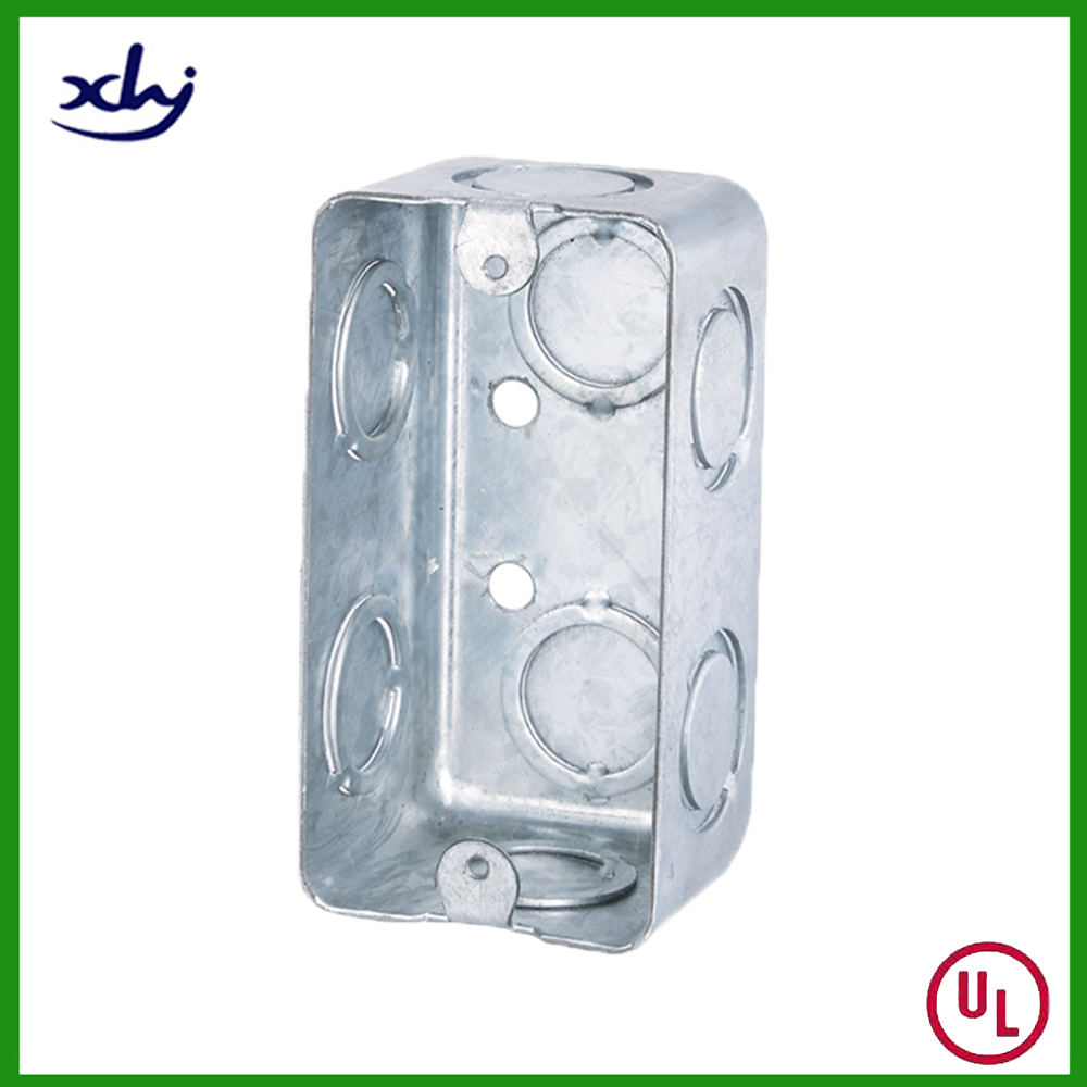 UL Approval Steel Switch Metal Knockout Box
