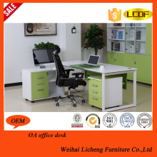 Chinese hot selling mdf steel furniture cheap price office desk