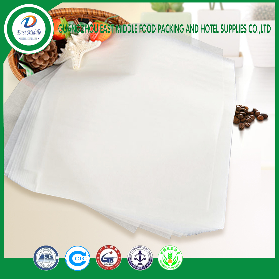 food grade baking paper waterproof of heat resistant non-stick silicone coated baking parchment paper