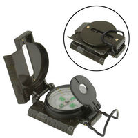 Military Camping Navigation Lensatic Compass