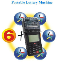Hot POS Terminal Ticket Printer with POS Software design in house for lottery sports betting solution
