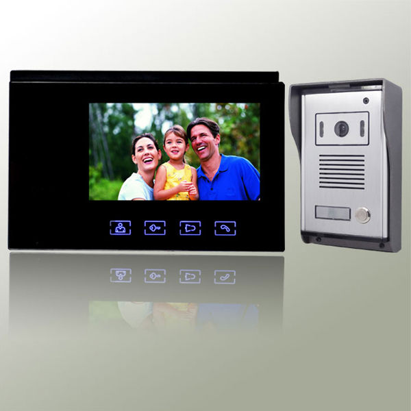 Intercom function 7inch Video door phone