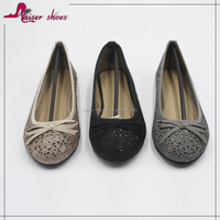 new style women shoes; laser cut ladies shoes;ballerina shoe;beautiful flat shoe
