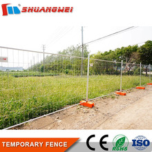 high quality hot dip galvanized usa chain link temporary fence panel