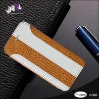 Genuine Leather Flip wallet Cell Phone Case for samsung galaxy