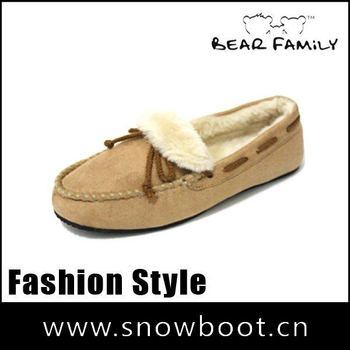 New style women casual shoe hot selling loafers lady moccasins