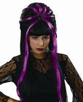 Top Grade Synthetic Hair Wig Women Pompadour Wig Synthetic Halloween Party Wig