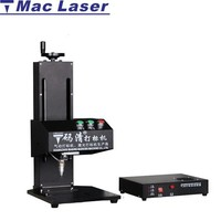MAC pneumatic dot peen marking machine logo marking for metal plate / name plate