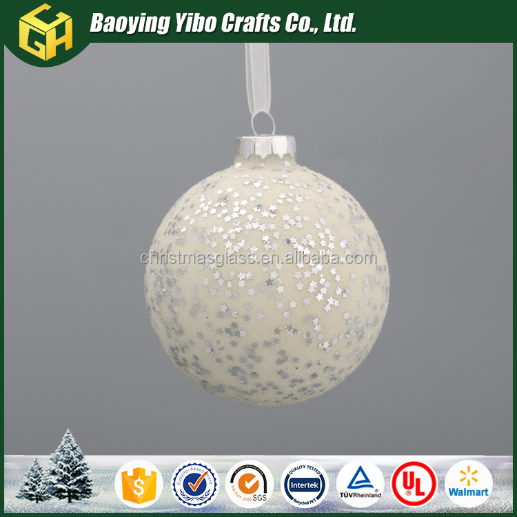 Factory Direct Supply Powder filling christmas glass snow ball