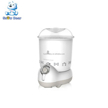 HL-0870 New arrival Snow Bear BPA Free CE 2 in 1 baby bottle sterilizer and dryer