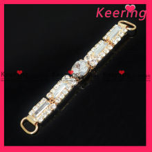 popular crafts rhinestone ribbon buckles WCK-801